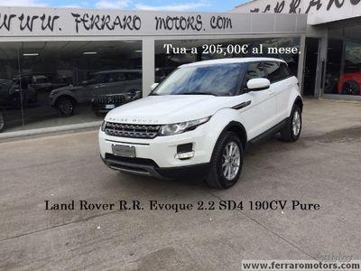 gebraucht Land Rover Range Rover evoque 2.2 SD4 190CV Pure
