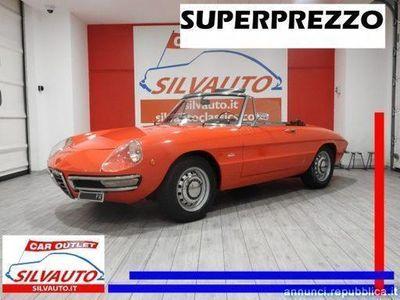 """usata Alfa Romeo GT Junior Spider 1300""""OSSO DI SEPPIA"""" 105.91 - SUPER PREZZO Grumello del Monte"""
