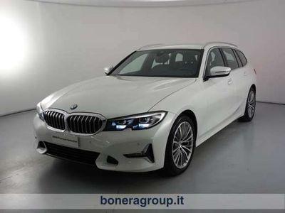 usata BMW 320 3 Touring d Luxury Steptronic