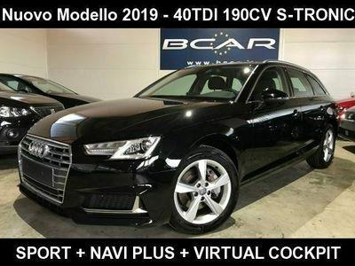 usata Audi A4 Avant 40 TDI S tronic Sport +NAVI +VIRTUAL COCKPIT