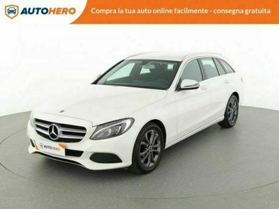 usata Mercedes C220 d s.w. auto exclusive - consegna a casa gratis