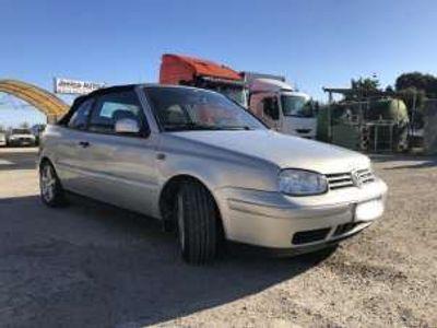 usata VW Golf Cabriolet Cabrio Benzina