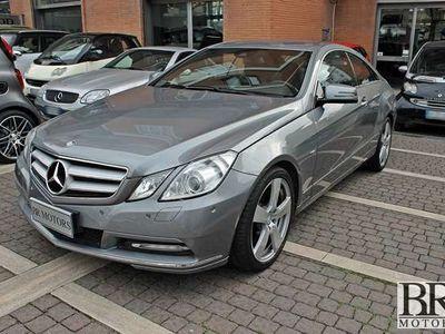 usata Mercedes E220 CDI Coupe' BlueEFFICIENCY -NAVI-XENO-C.AUTO-UNIPRO
