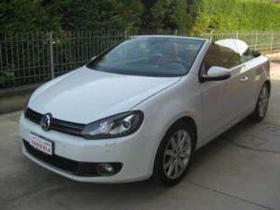 usata VW Golf Cabriolet 1.6 TDI INTERNO IN PELLE XENO SENSORI PARK Diesel