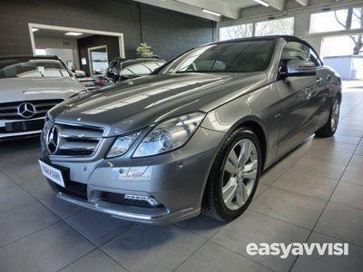 usado Mercedes E350 CDI Cabrio BlueEFFICIENCY Avantgarde