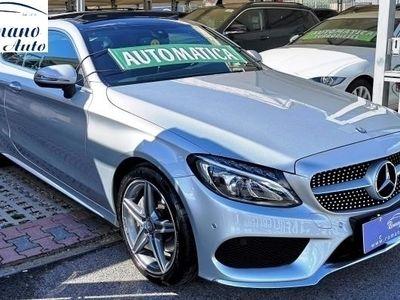 used Mercedes 170 Classe C Coupè C 220dCoupe Premium Plus AMG#Garanzia Uff. Italia 03/2019#
