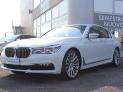 usata BMW 730L d xdrive head up display sedili c sospensioni diesel