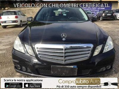 usata Mercedes E220 CDI S.W. BlueEFF. Elegance Plus