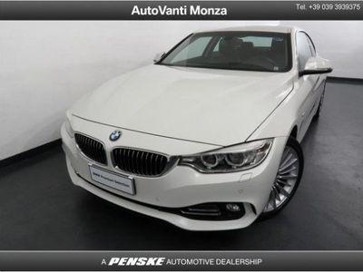 usata BMW 425 Serie 4 d Coupé Luxury