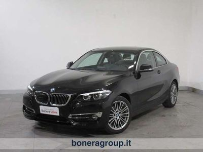 usata BMW 218 Serie 2 d coupe Luxury 150cv auto my18