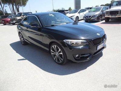 usata BMW 228 Serie 2 Coupé i Coupe Msport auto 228 ...