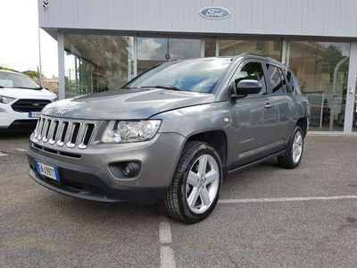 usata Jeep Compass 2.2 CRD Limited 2WD 136CV MANUALE PELLE TOTALE