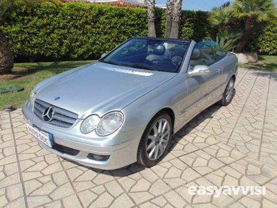 begagnad Mercedes CLK320 cdi cat cabrio avantgarde diesel