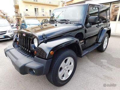 usata Jeep Wrangler 2.8 CRD Sahara autom. 3porte