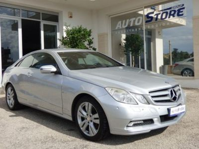 usata Mercedes E250 E 250 CDI Coupé BlueEFFICIENCY AvantgardeCDI Coupé BlueEFFICIENCY Avantgarde