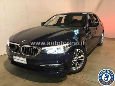 usata BMW 520 SERIE 5 BERLINA d Business auto