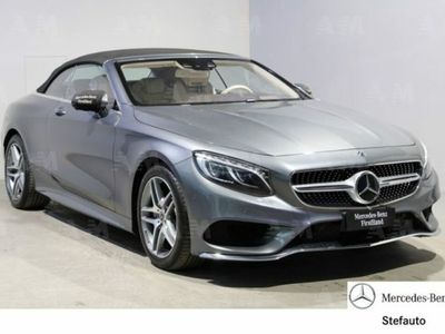 gebraucht Mercedes 500 Classe S CabrioCabrio Maximum del 2018 usata a Bologna