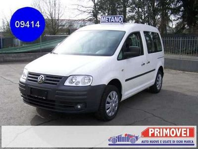 usata VW Caddy 2.0 Ecofuel 5 posti, radio CD, clima automatico, s Benzina/Metano