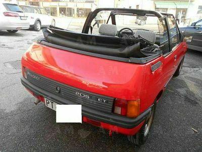 usata Peugeot 205 Cabrio Cabriolet CT usato