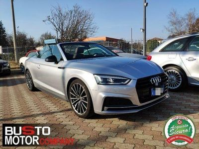 gebraucht Audi A5 Cabriolet 2.0 TDI 190 CV S tronic Sport - AZIENDALE