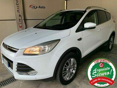 usata Ford Kuga 2.0 TDCI 140 CV 4WD Powershift Titanium