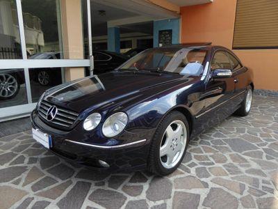 usata Mercedes CL500 cat TAGLIANDI MERCEDES FULL OPTIONAL STUPENDA!!