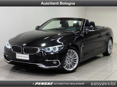 usata BMW 420 d cabrio luxury diesel