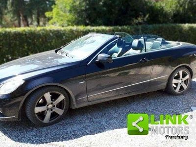 usata Mercedes E250 CGI Cabrio BlueEFF. Executive