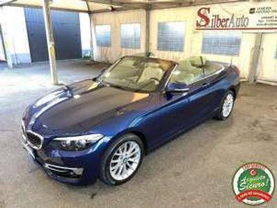 usata BMW 220 d Cabrio Luxury 190 CV Cambio Automatico Diesel