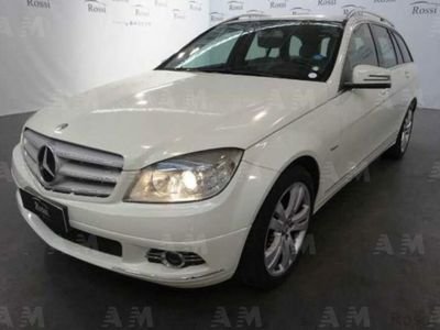 used Mercedes 200 Classe C Station WagonCDI Avantgarde AMG del 2009 usata a Narni