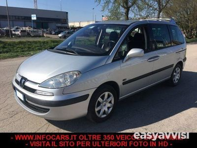 used Peugeot 807 2.0 hdi fap - 122.000 km 7 posti diesel