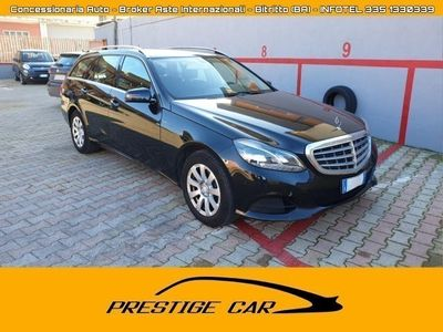 usado Mercedes E200 BlueTEC S.W. Automatic Business