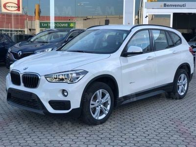 second-hand BMW X1 sDrive18d automatica