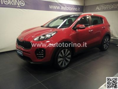 brugt Kia Sportage SPORTAGE1.7 crdi Class Style Pack 2wd 115cv my17