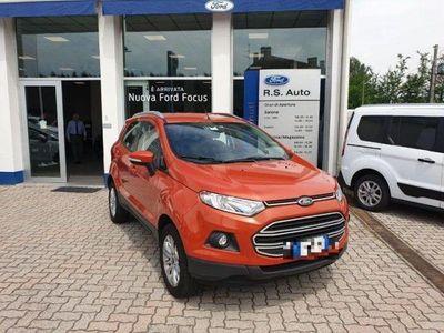 brugt Ford Ecosport 1.5 110 CV Plus del 2015 usata a Crema