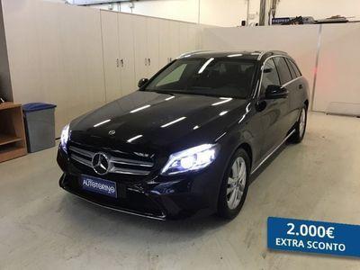 usata Mercedes 220 CLASSE C BERLINA C SWd Sport Plus auto