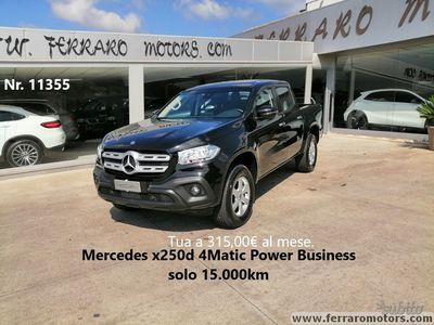 usata Mercedes X250 4Matic solo 15.000km
