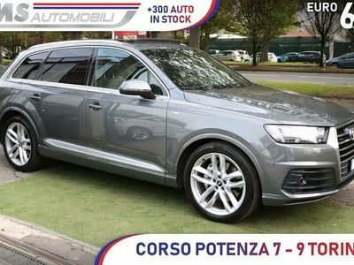 usata Audi Q7 3.0 TDI quattro tiptronic S LINE Tett...