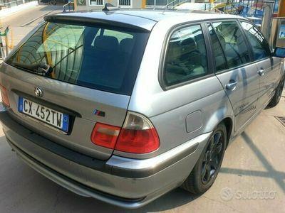 usata BMW 320 d grigia