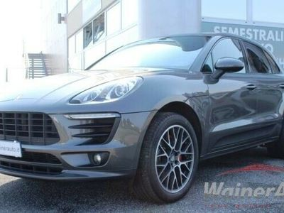 usata Porsche Macan 3.0 s diesel led tetto panorama sport plus