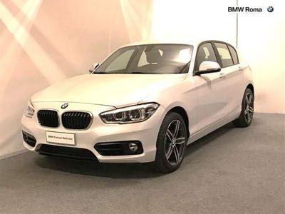 usata BMW 118 Serie 1 d 5p. Sport del 2019 usata a Roma