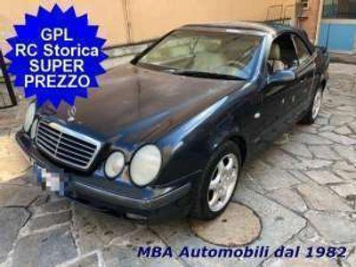 usata Mercedes CLK200 cabrio kompr. sport - gpl storica leggi bene benzina/gpl
