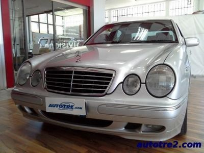 usata Mercedes E240 2.6 V6 cat Avantgarde km 134000