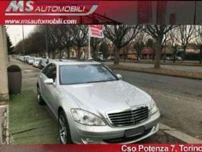 usata Mercedes S320 cdi 4matic avantgarde navi 19 radar pelle unicopro diesel