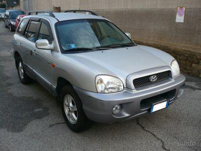 brugt Hyundai Santa Fe Unico Proprietario - 2004
