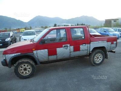 usado Nissan King Cab 2.5 D PICK UP - CASSONE - DOUBLE C