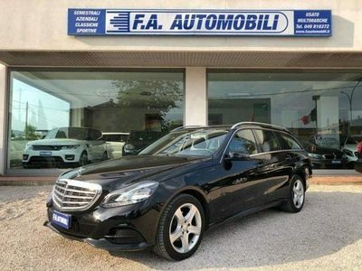 usata Mercedes E220 BlueTEC S.W. Automatic Business 9g-tronic