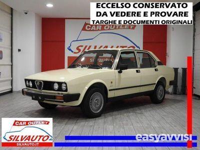 gebraucht Alfa Romeo 2000 alfetta116 55 f benzina