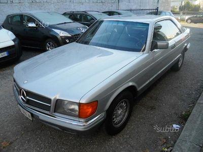 używany Mercedes 380 sec (c126) - 1983