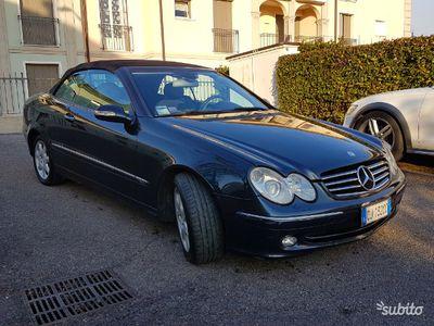 usata Mercedes CLK200 cabrio